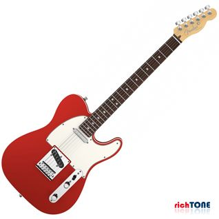 Fender American Deluxe Telecaster - RW - Candy Apple Red