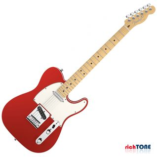 Fender American Deluxe Telecaster - Maple - Candy Apple Red