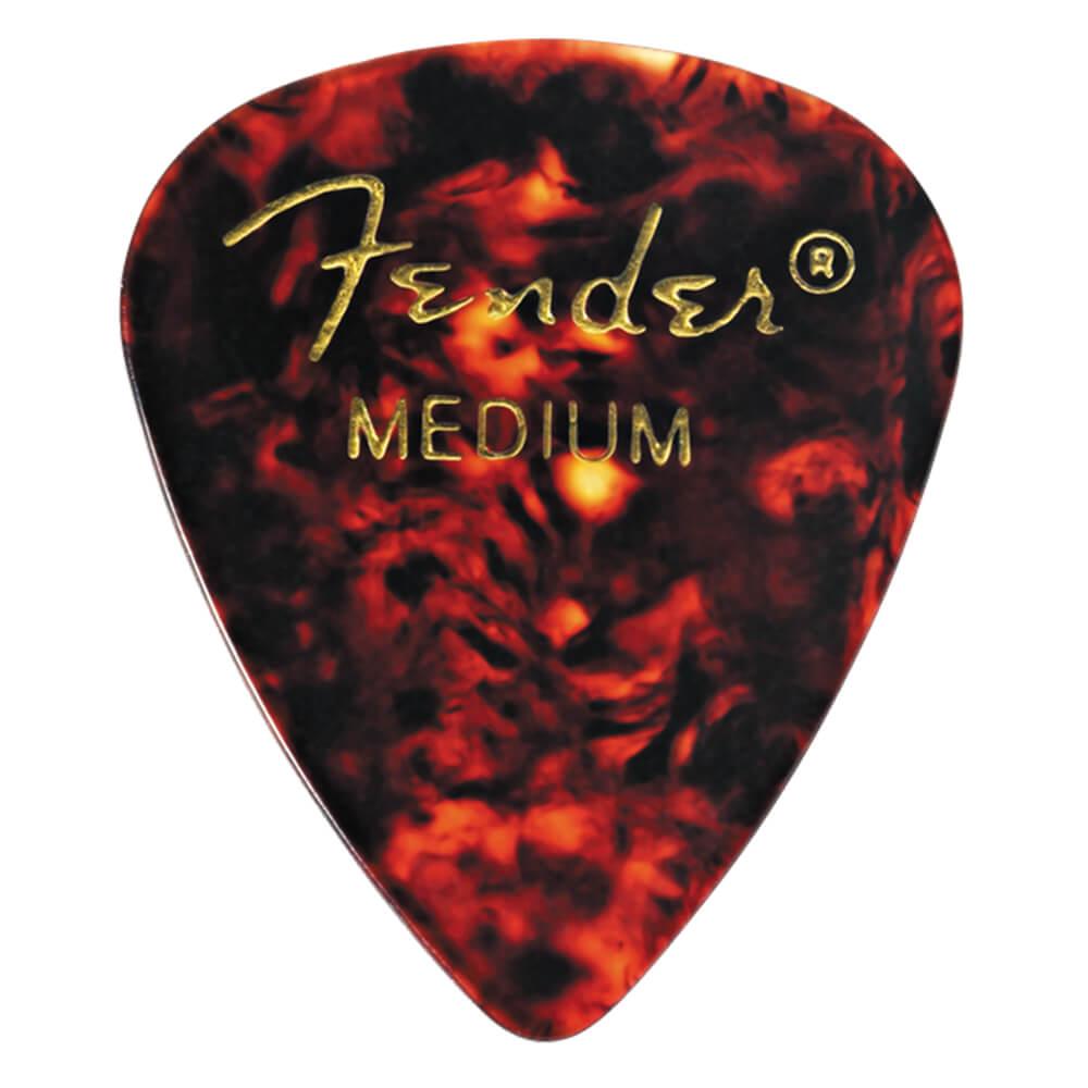 Heavy Fender 451 Shape Classic Celluloid Picks 12 Pack Shell