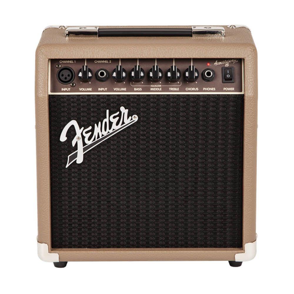 Fender Acoustasonic 15 Acoustic Guitar Amplifier
