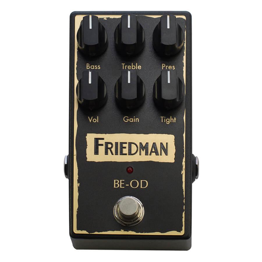 Friedman BE-OD Overdrive Pedal
