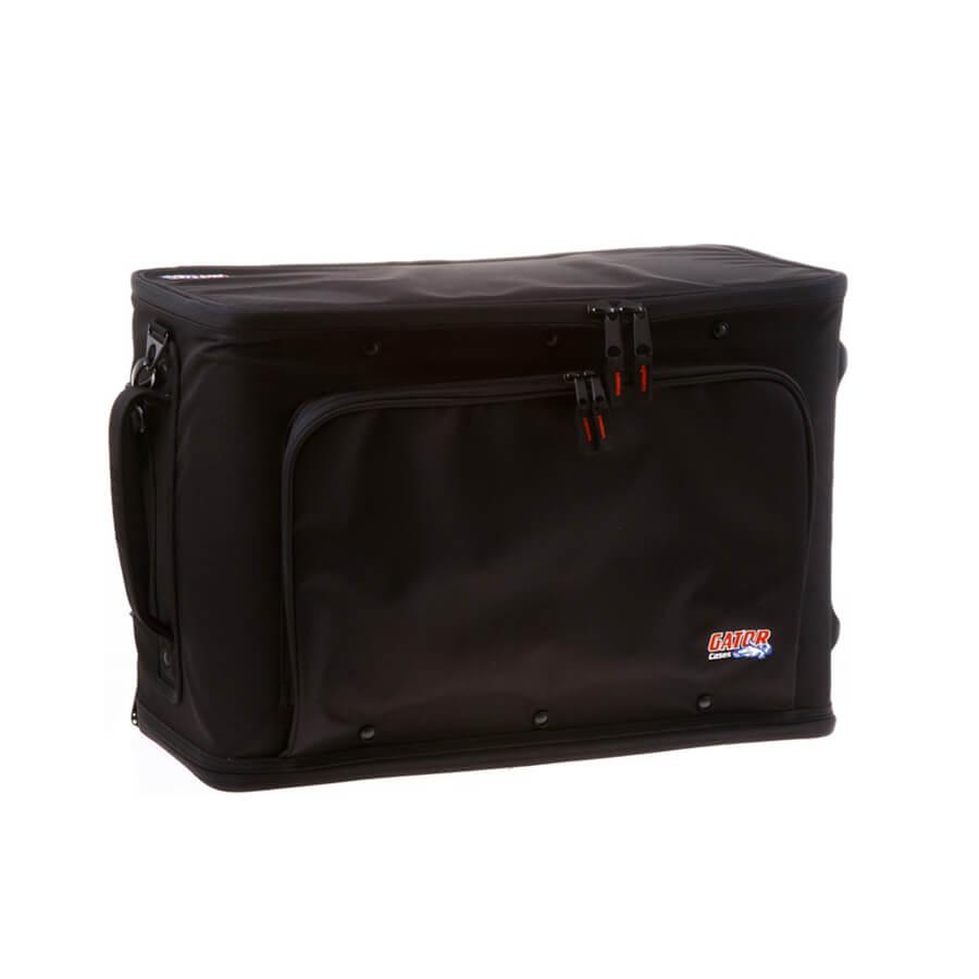 Gator 3U L/Wt Rack Bag W/Wheels
