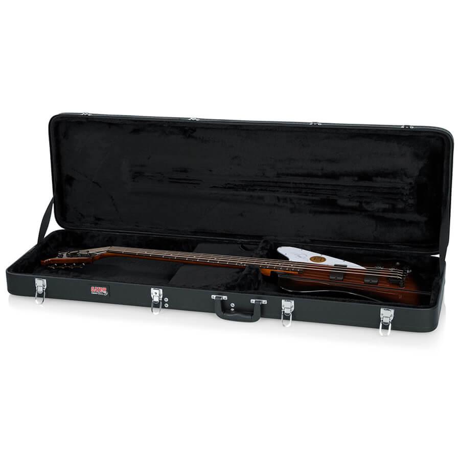 gator gwe tbird bass thunderbird bass guitar hard case rich tone music. Black Bedroom Furniture Sets. Home Design Ideas