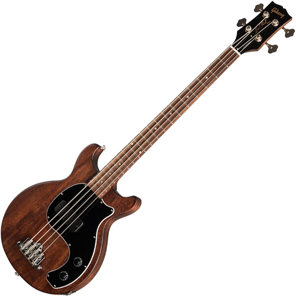 Gibson Les Paul Junior Tribute DC Bass - Worn Brown