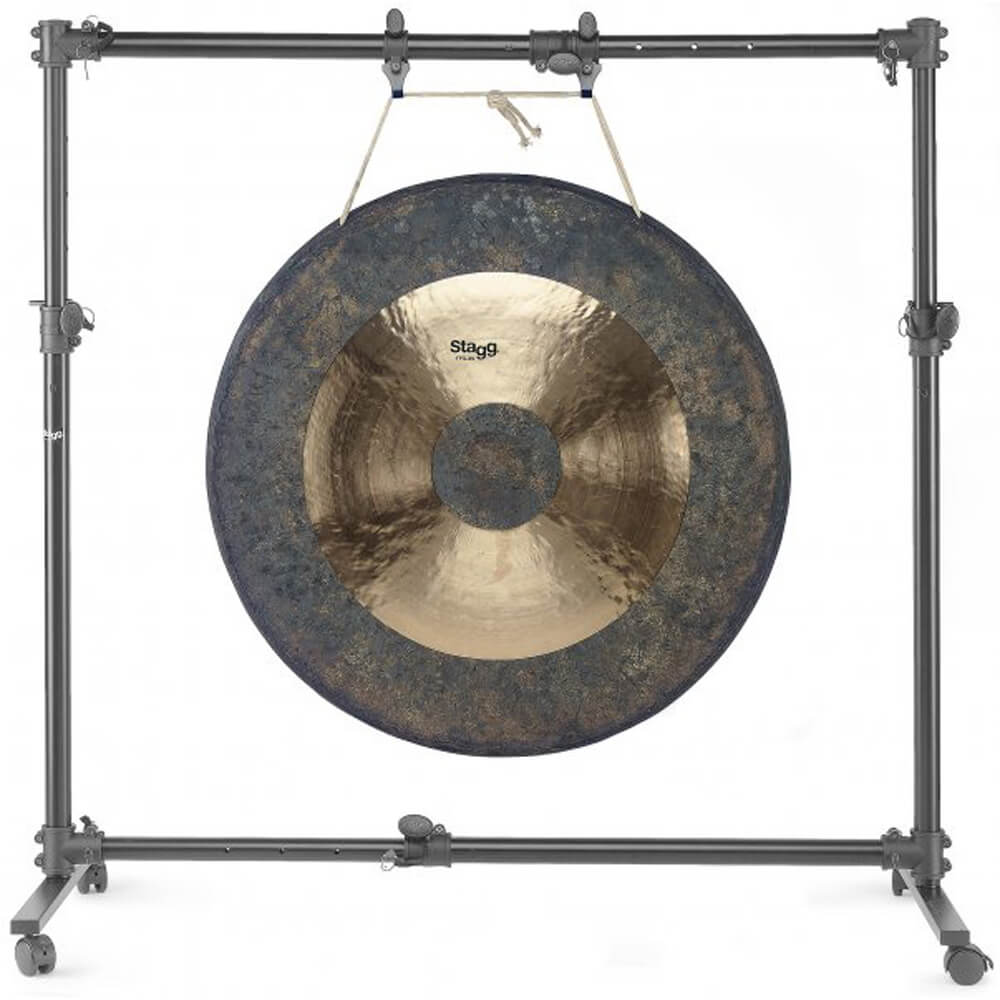 Stagg GOS-1538 Adjustable Stand For Gong From 15 Up To 38 On Wheels