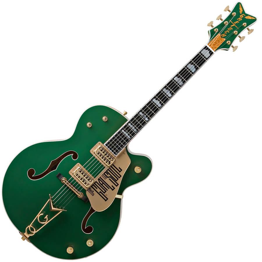 Gretsch G6136I Irish Falcon Bono - Soul Green