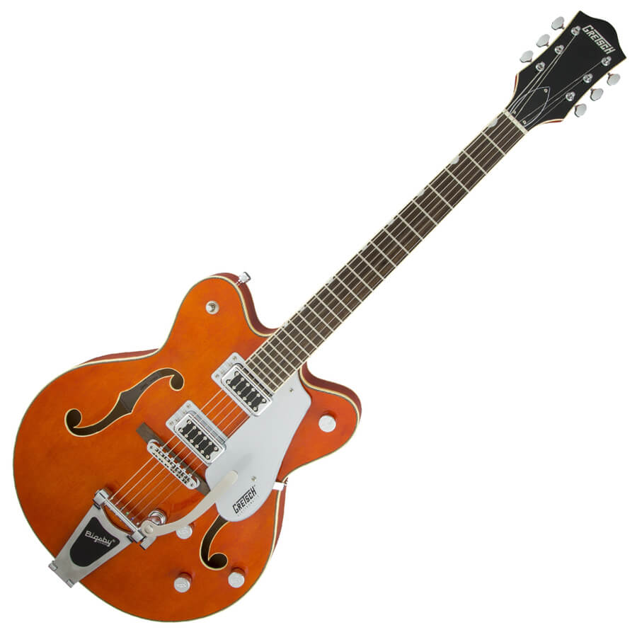 Gretsch Electromatic G5422T with Bigsby - Orange Satin