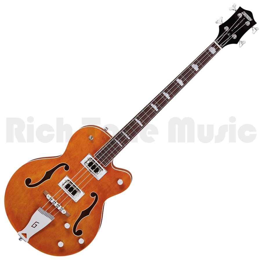 gretsch g5440lsb electromatic bass guitar orange long scale rich tone music. Black Bedroom Furniture Sets. Home Design Ideas