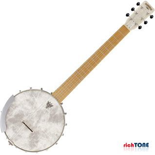 Gretsch Roots G9460 Dixie 6 Guitar Banjo - Antique Maple Satin