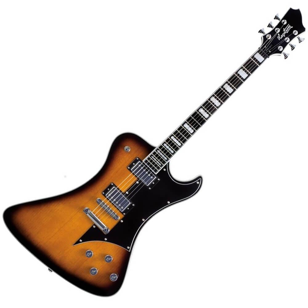 Hagstrom Fantomen Ghost Signature Guitar - Tobacco Sunburst