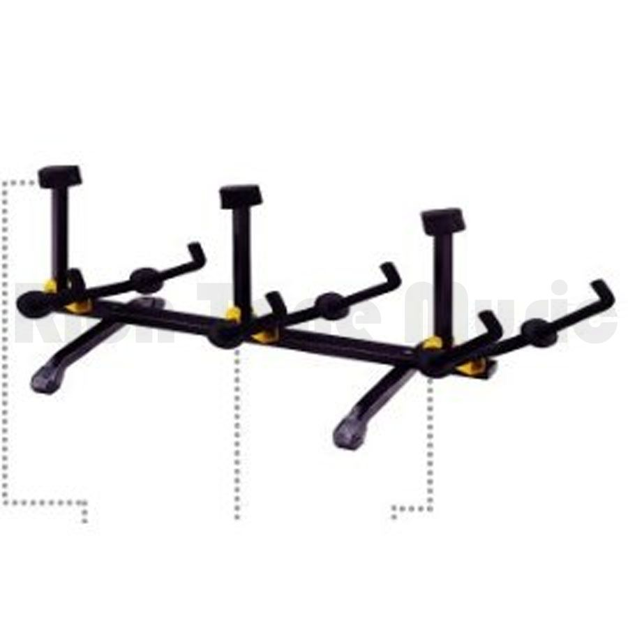 Hercules GS503B 3-Way Multi Guitar Rack 2-Position Yoke