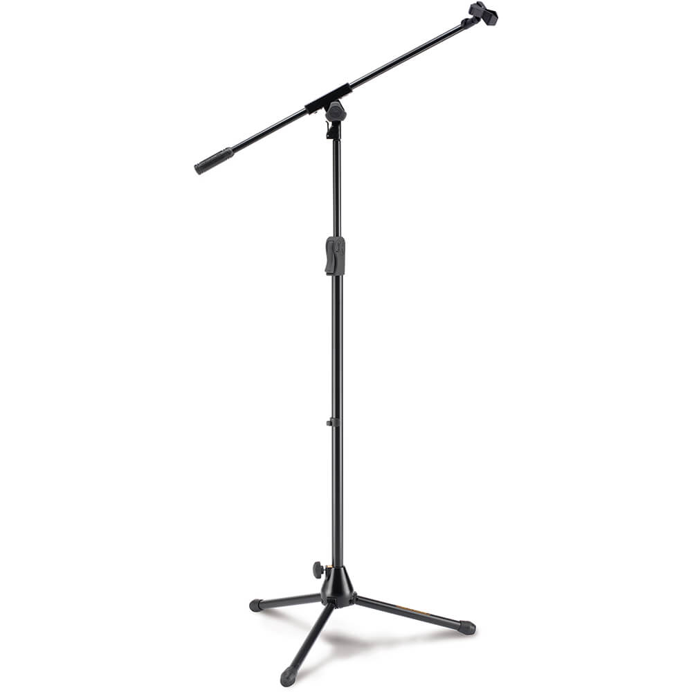 Hercules MS531B Tripod Microphone Stand with Boom & Quik-N-EZ Adaptor