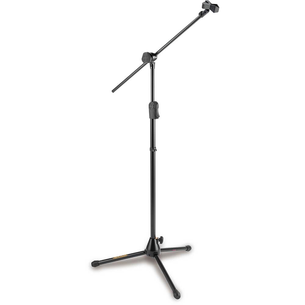 Hercules MS533B Tripod Microphone Stand with Boom & Quik-N-EQ Adaptor