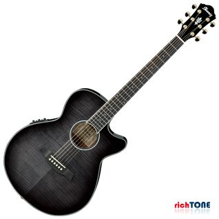 Ibanez AEG24II-TGB Acoustic - Transparent Gray Burst