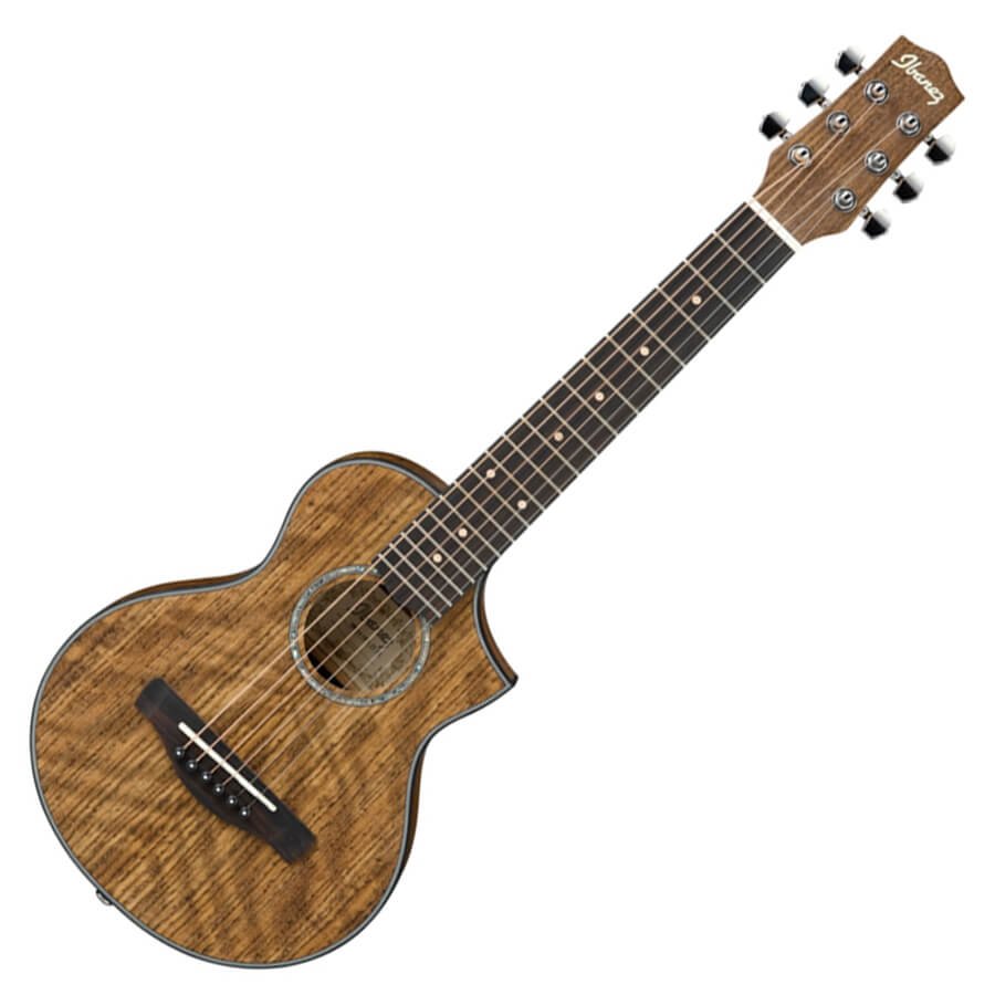 Ibanez 2016 EWP14WB-OPN Ovangkol Piccolo Guitar Debut