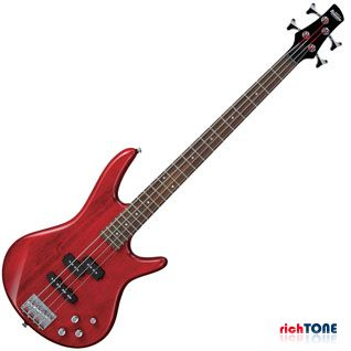 Ibanez GSR200 Bass Guitar - Transparent Red