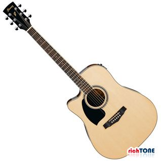 Ibanez PF15LECE-NT Acoustic - Left Handed - Natural