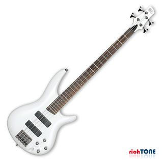 Ibanez SR300-PW Bass Guitar - Piano White