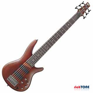 Ibanez SR506-BM Bass Guitar - Brown Mahogany