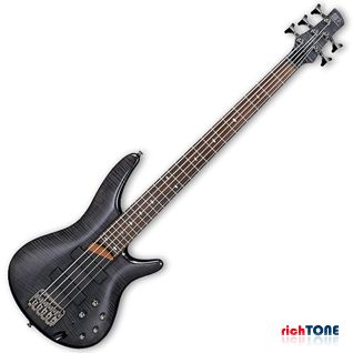 Ibanez SR705-TK - Transparent Black - Bass Guitar