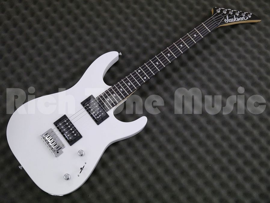 Jackson Js 11 Dinky Electric Guitar Gloss White Rich