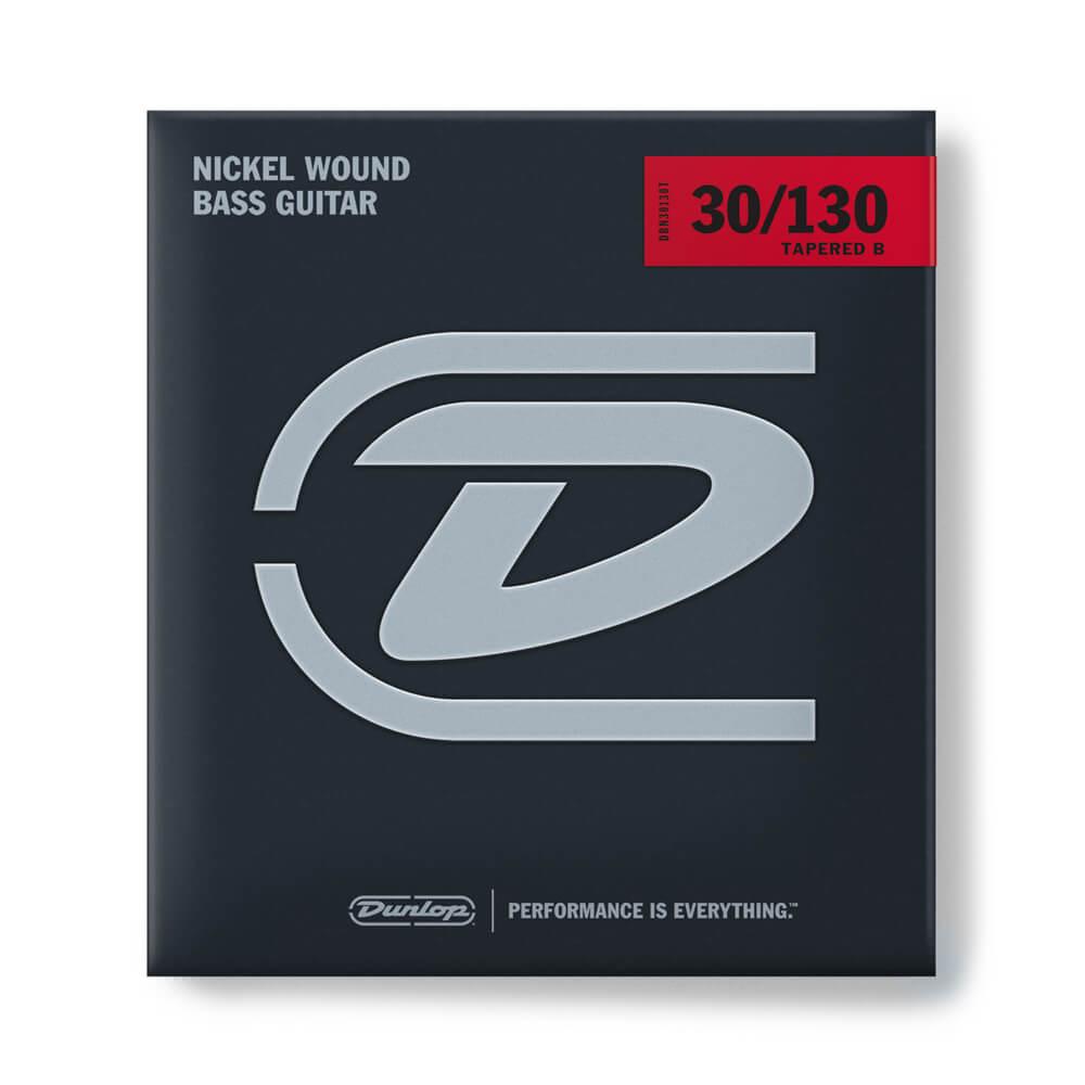 Jim Dunlop DBN30130T Bass Strings, Nickel, 6-String, Medium, 30/130T