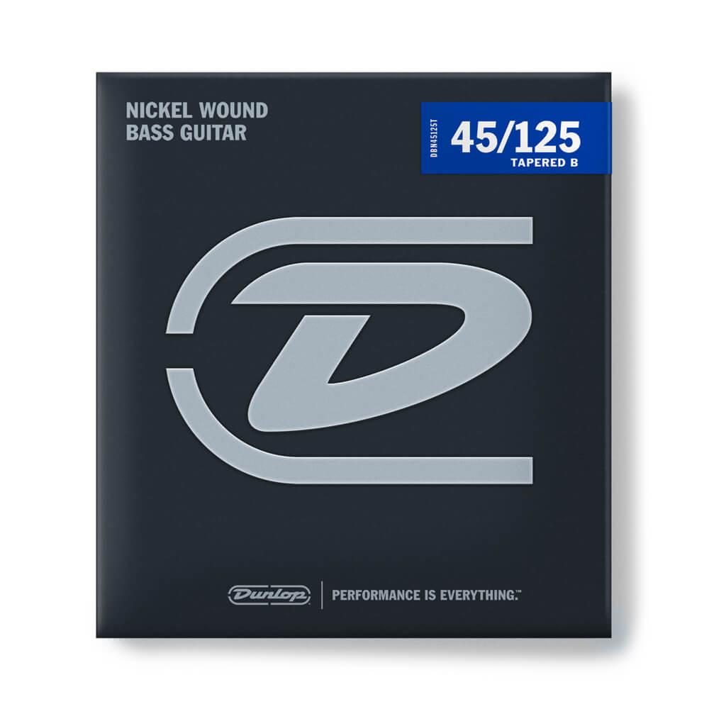Jim Dunlop DBN45125T Bass Strings, Nickel, 5-String, Light Medium, 45/125T