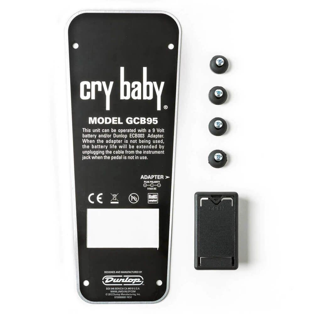 Jim Dunlop JD-ECB152C Cry Baby GCB95 BTM Back Plate Replacement