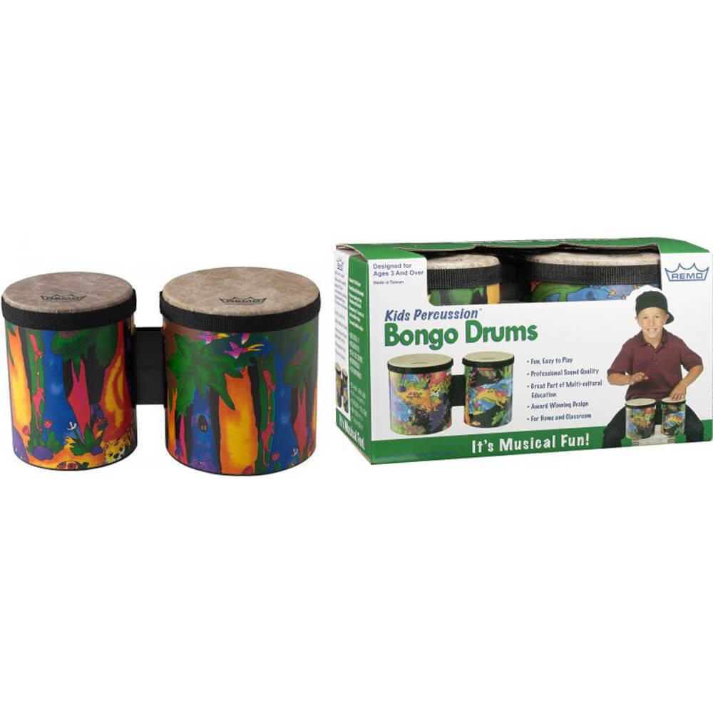 """Remo KD-5400-01 5""""/6"""" Kids Bongo Set"""