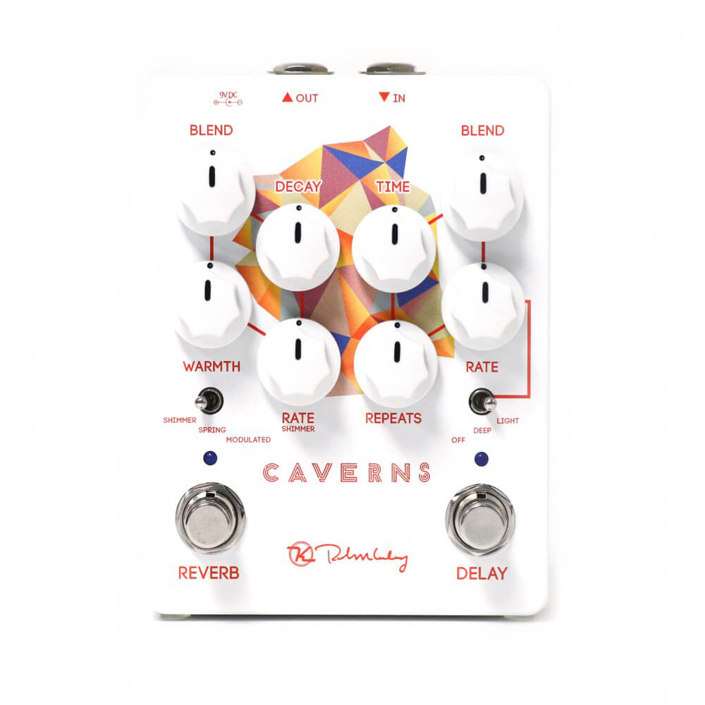 Keeley Caverns Delay/Reverb V2 FX Pedal