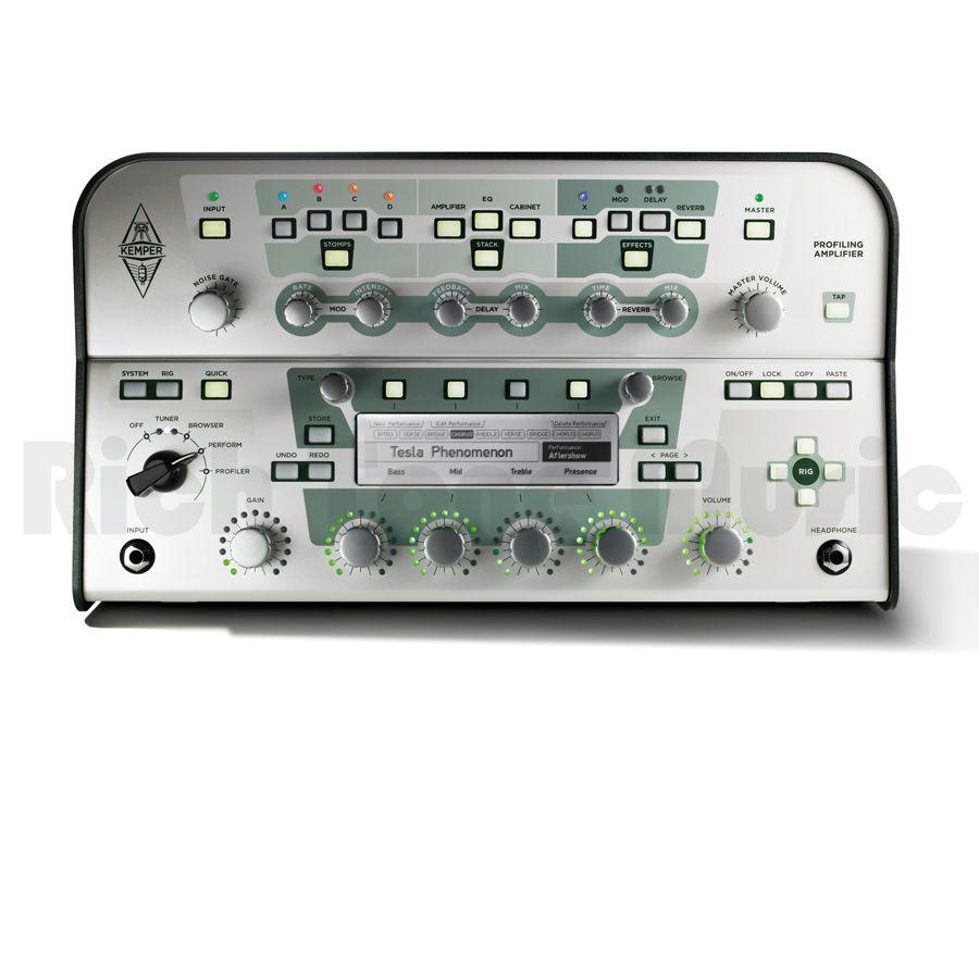 Kemper Profiler Head Amp - White