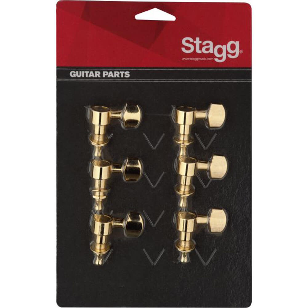 Stagg KG243CR Bass Guitar Machine Heads Chrome