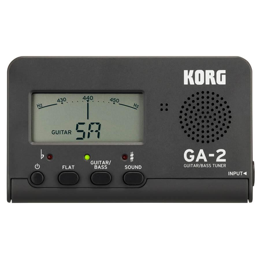 Korg GA-2 Guitar Tuner - Limited Edition Matte Grey