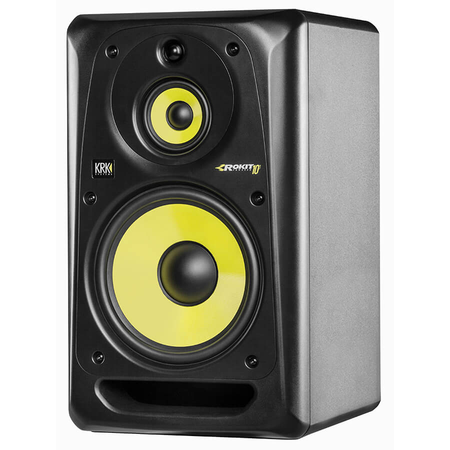 KRK's ROKIT 10-3 G3 Powered Studio Monitor - Black