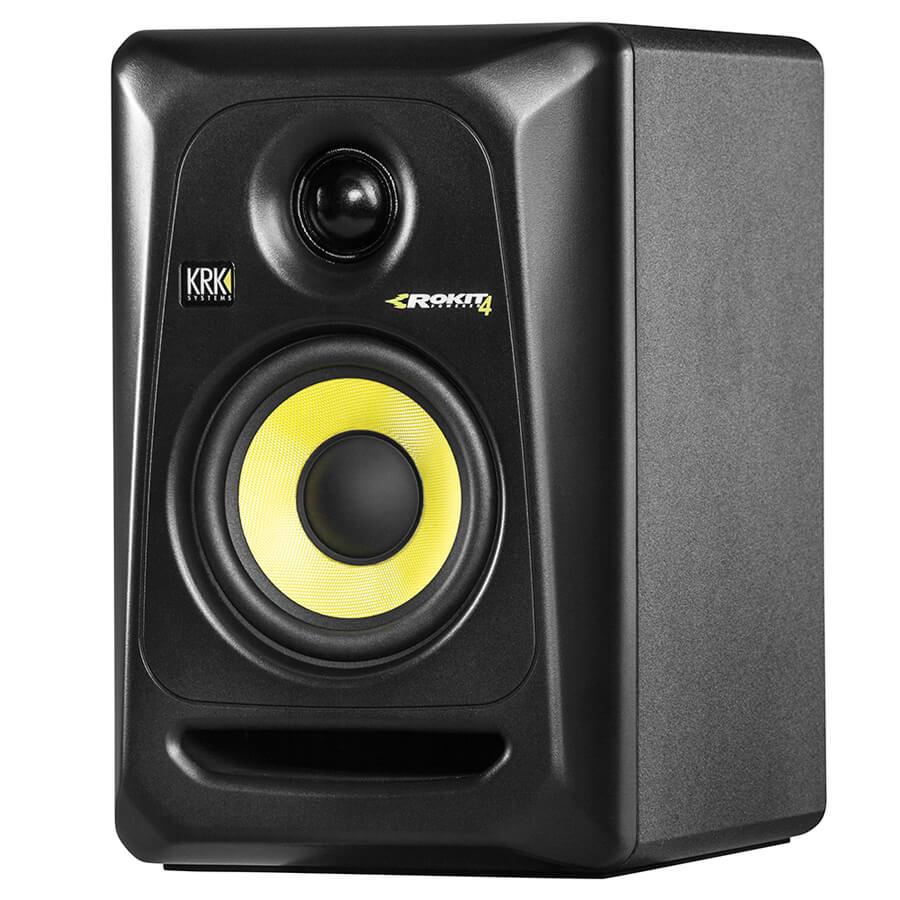 KRK's ROKIT 4 G3 Powered Studio Monitor - Black
