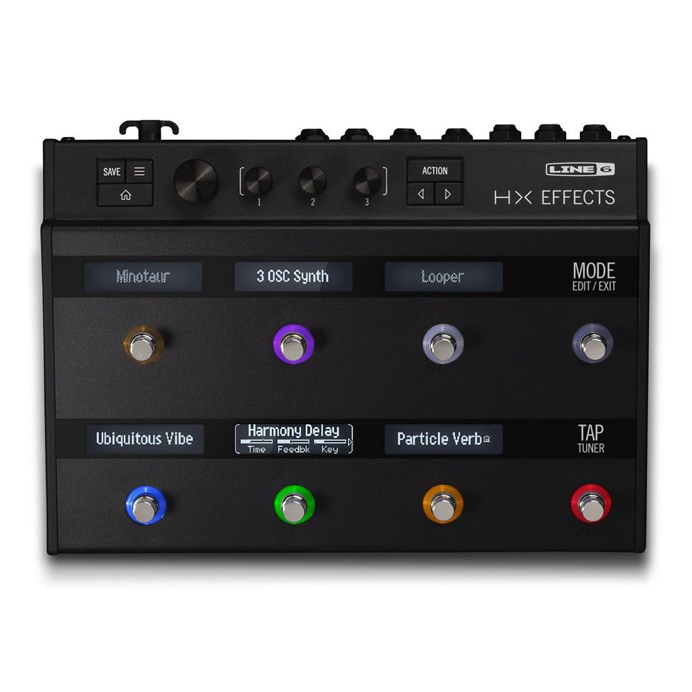 line 6 helix hx effects multi effects pedal rich tone music. Black Bedroom Furniture Sets. Home Design Ideas