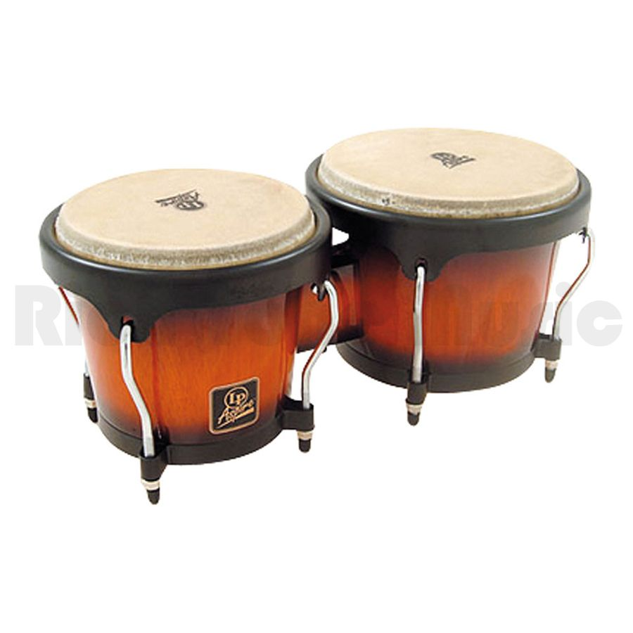 latin percussion lpa601 vsb bongos vintage sunburst rich tone music. Black Bedroom Furniture Sets. Home Design Ideas