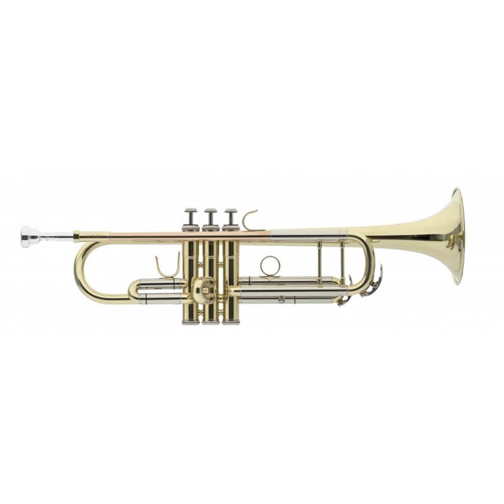 Levante LV-TR5205 Bb Trumpet Leadpipe In Gold Brass