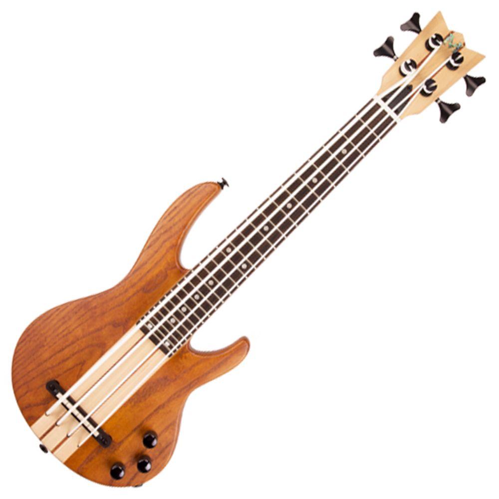 Mahalo MEB1/NA Electric Bass Ukulele - Natural with Bag