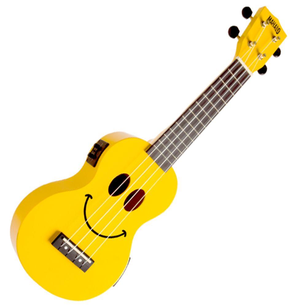 Yellow Mahalo 2211 Soprano Smile Ukulele