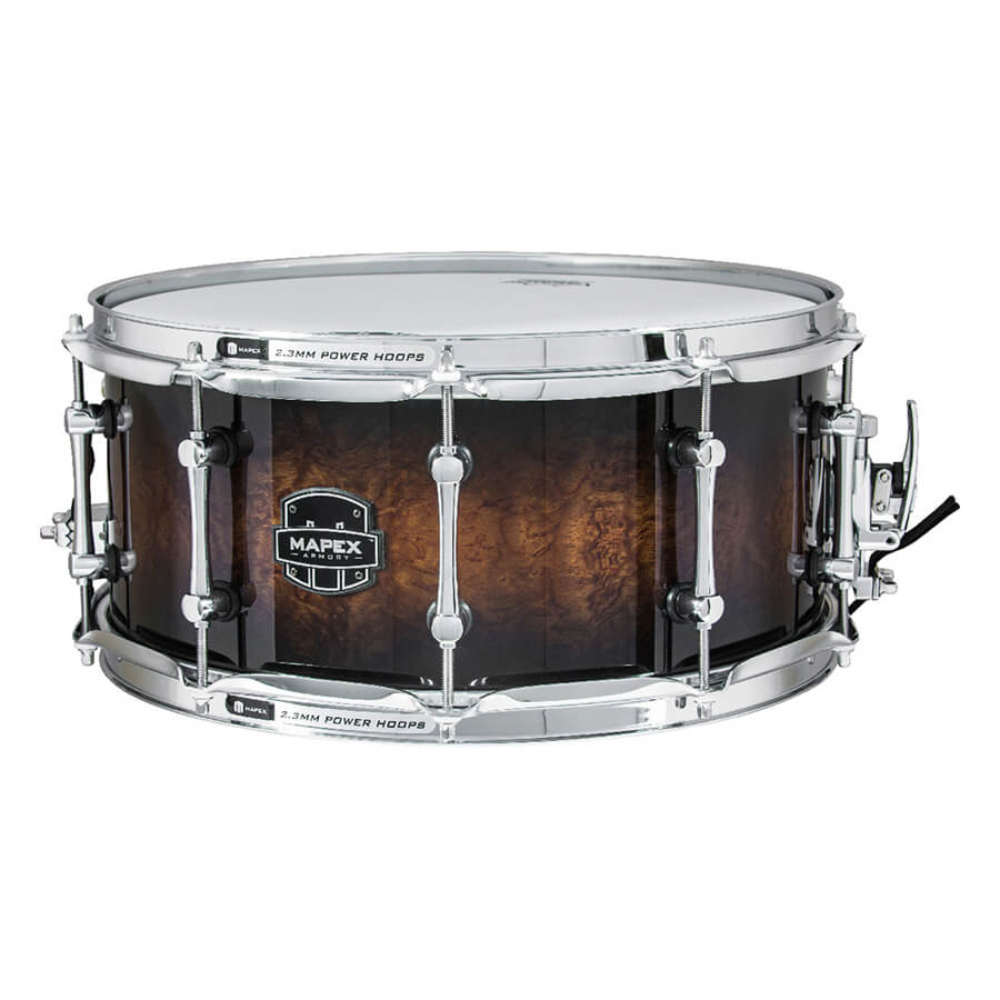 mapex armory series exterminator snare drum rich tone music. Black Bedroom Furniture Sets. Home Design Ideas