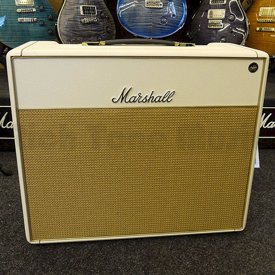 marshall custom shop 1974x guitar amplifier 1x12 18w ivory rich tone music. Black Bedroom Furniture Sets. Home Design Ideas
