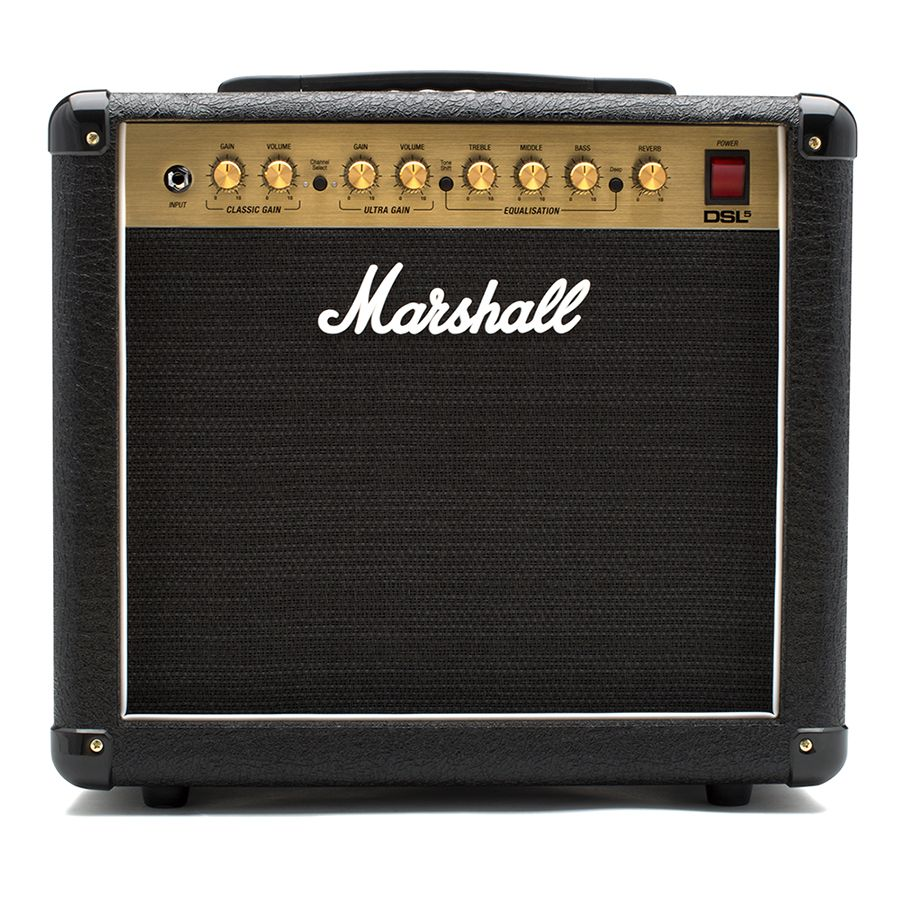 Marshall Dsl5cr Combo Amplifier Rich Tone Music