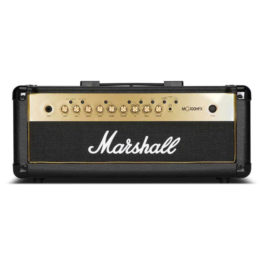 Marshall MG100HGFX - 100W Black & Gold Guitar Amplifier Head w/Reverb & FX