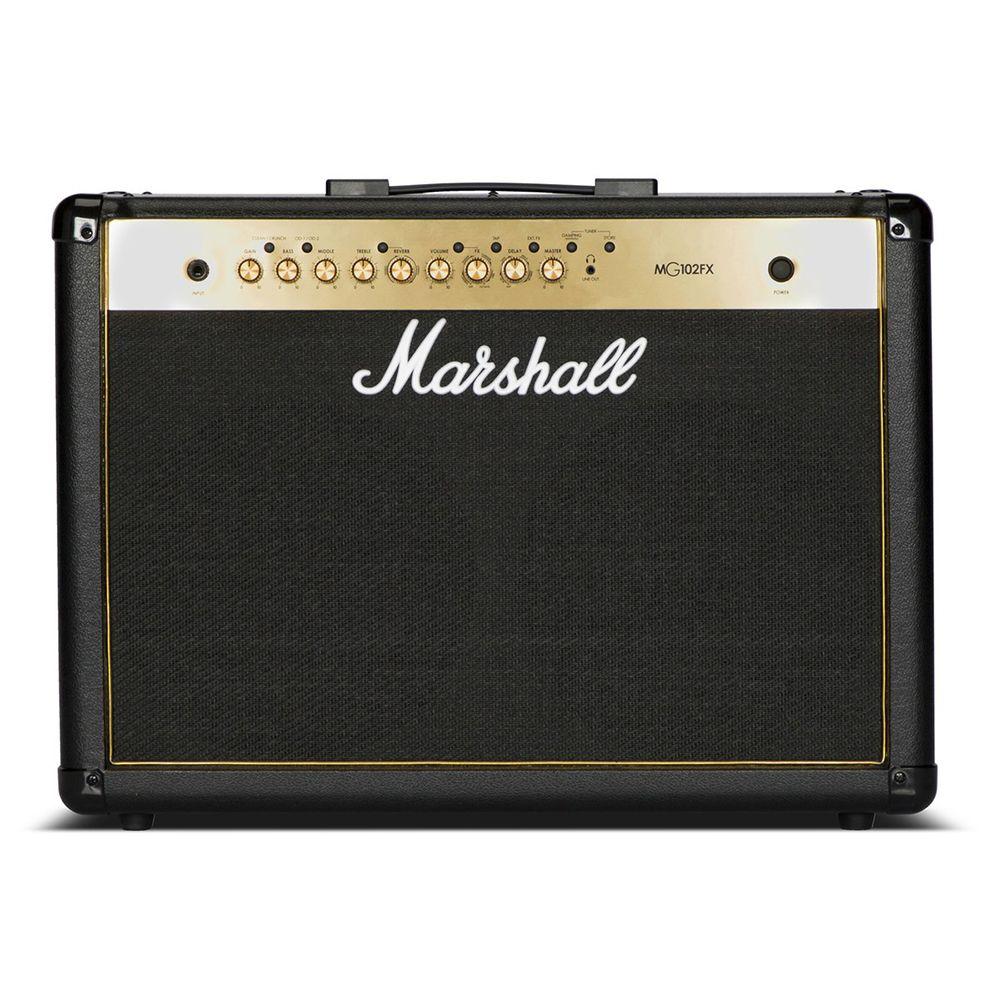 Marshall MG102GFX - 100W Black & Gold 2x12″ Guitar Combo Amp