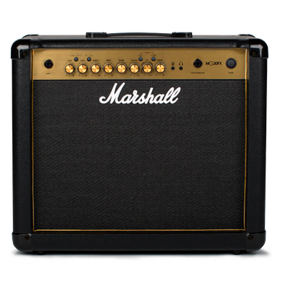 marshall mg30gfx gold combo guitar amplifier rich tone music. Black Bedroom Furniture Sets. Home Design Ideas
