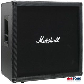 Marshall MG412BCF Carbon Fibre - Straight 4x12 Speaker Cabinet