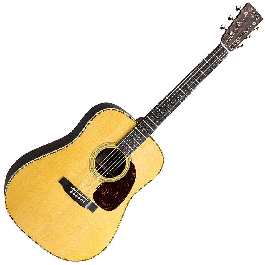 martin hd 28 re imagined 2018 acoustic guitar natural rich tone music. Black Bedroom Furniture Sets. Home Design Ideas