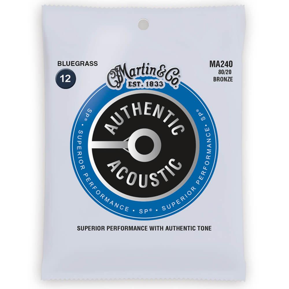 Martin MA240 Acoustic SP, 80/20 Bronze, Bluegrass, 12-56