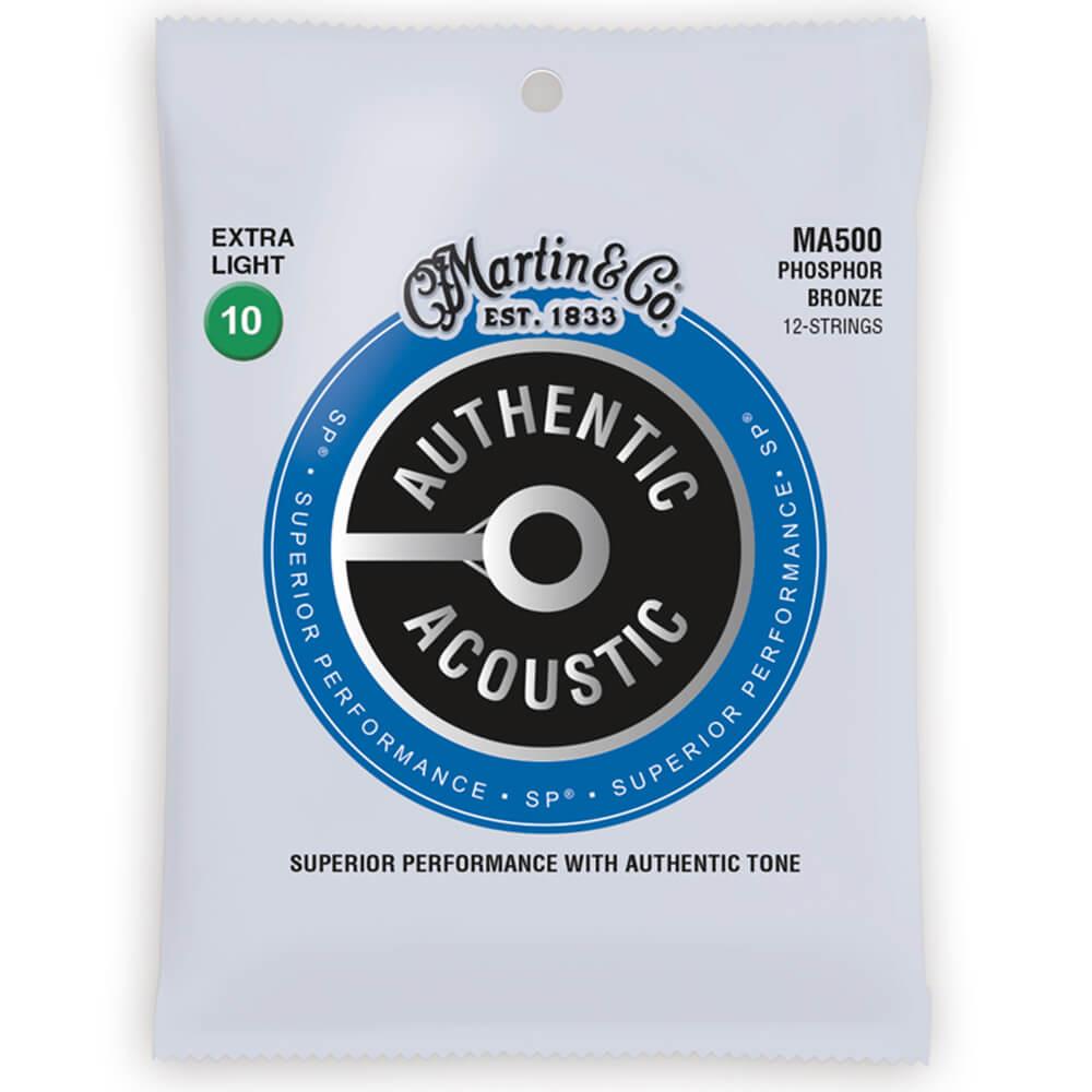 Martin MA500 Acoustic SP, Phosphor Bronze, 12 String, X-Light, 10-47